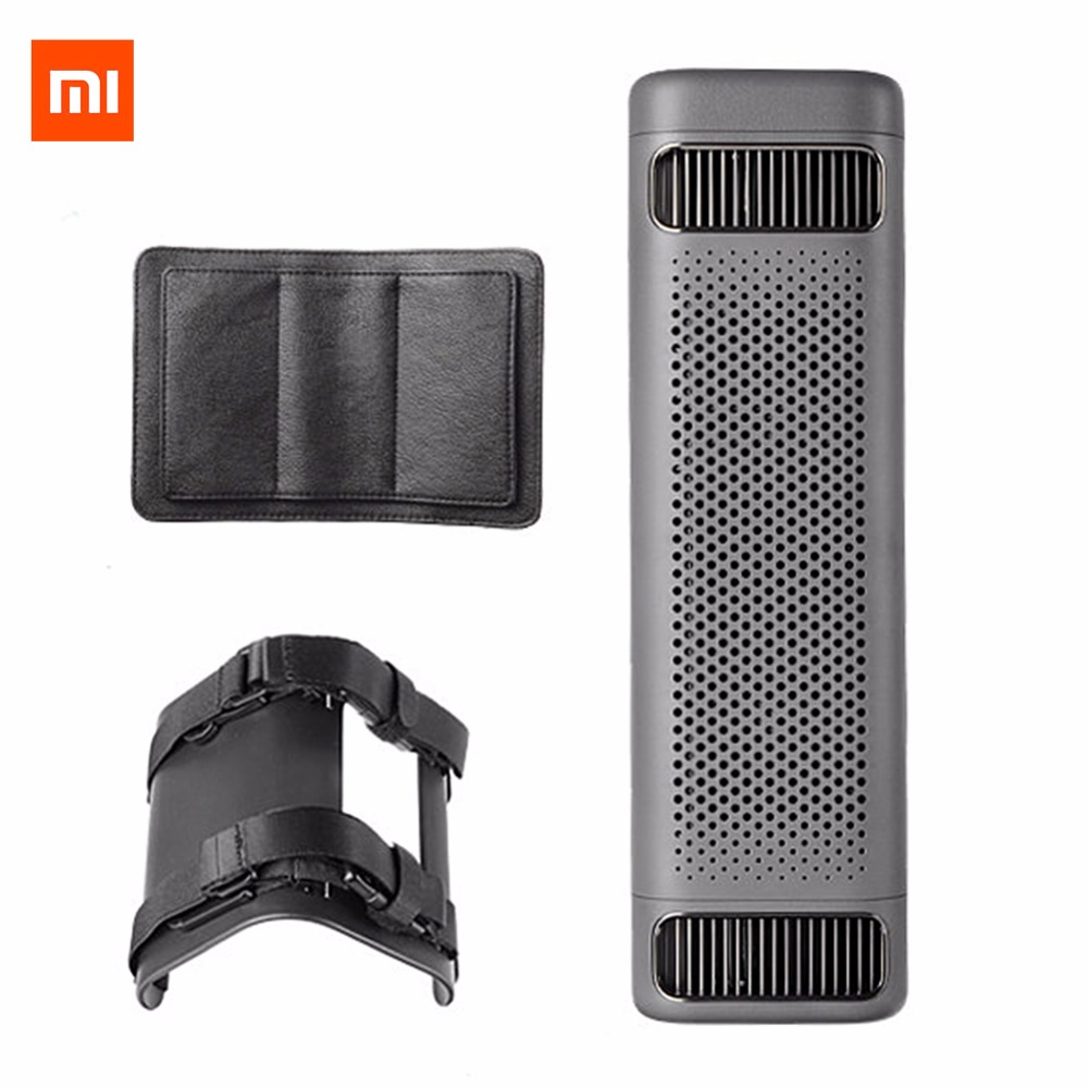 Xiaomi Mijia Car Air Purifier 12V Bluetooth Car Formaldehyde Haze Purifier Car Air Freshener Cleaning Smart APP Control 2018 New car outlet perfume air freshener with thermometer lime