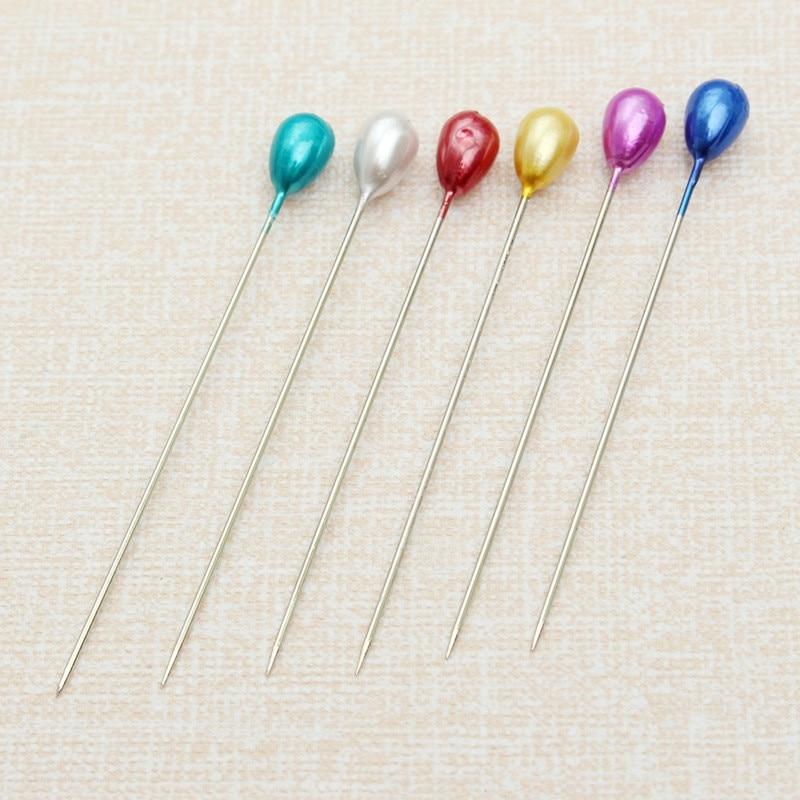 200Pcs Dressmaking Sewing Pin Straight Pins Round Head