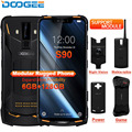 IP68 DOOGEE S90 модульный прочный мобильный телефон 6,18 дюймов дисплей 5050 мАч Helio P60 Восьмиядерный 6 ГБ 128 ГБ Android 8,1 Andriod 8,1 16,0