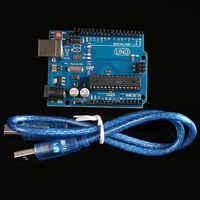 UNO R3 (met LOGO) MEGA328P ATMEGA16U2 10 set = 10 stks board + 10 stks usb-kabel