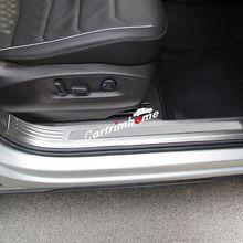 Stainless Inner Door Sill Scuff Plate 4pcs For VW Tiguan 2nd Gen LWB 2016 2017 стоимость