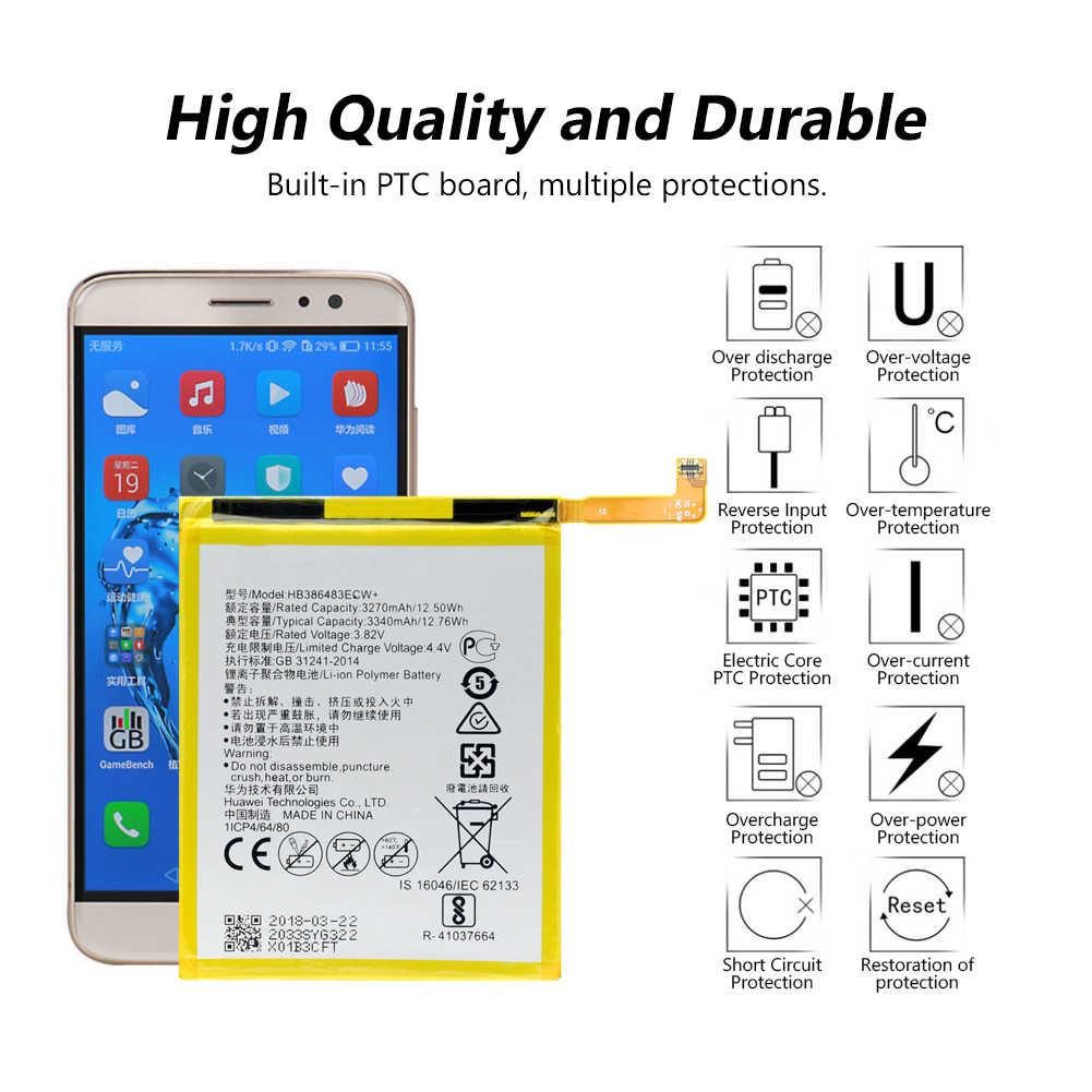 Pin Sạc Lithium HB386483ECW + Pin Cho Huawei G9 Plus Nova Plus Maimang 5 Danh Dự 6X Lipo Li-Po Lý -Polymer Pin Điện Thoại