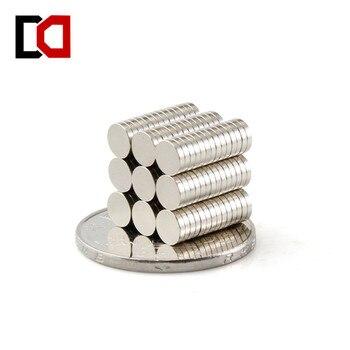 100 piezas 5x1mm N50 imán de neodimio de la tierra rara imán 5mm X 1mm envío gratis imanes fuertes
