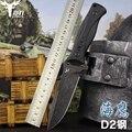 PSRK D2 лезвие портативный тактический армейский нож для выживания кемпинга G10 ручка охотничий Открытый нож Ручные инструменты с K оболочкой 60 ...