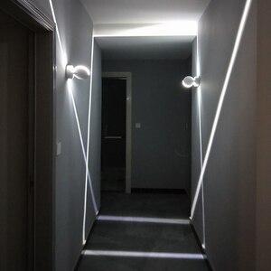 Светодиодная настенная лампа RGB для помещений, светодиодная лампа для поверхностного монтажа 85-265 в