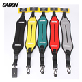 Caden Camera Single Shoulder Sling Strap Canvas Black Yellow Blue Digital Video Carry Speed For Canon Nikon Sony Pentax 43cm