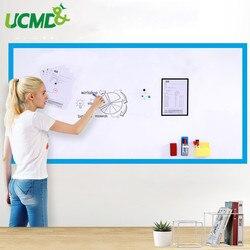 Droog Vegen Kinderkamer Decal Decor Whiteboard Muur Sticker Hold Magneten zelfklevende 100x60 cm Kantoor vergadering schrijven White board