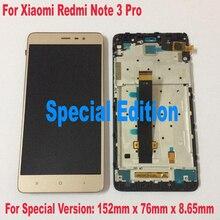 152mm!! NOUVEAU LCD Affichage à L'écran Tactile Digitizer Assemblée + cadre Pour Xiaomi Redmi Note 3 Pro Version Spéciale Édition SE remplacement