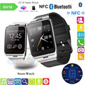 Smart watch montre aplus gv18 bluetooth conectado gsm sim card para apple telefone android pk dz09 gt08 wearable dispositivos eletrônicos