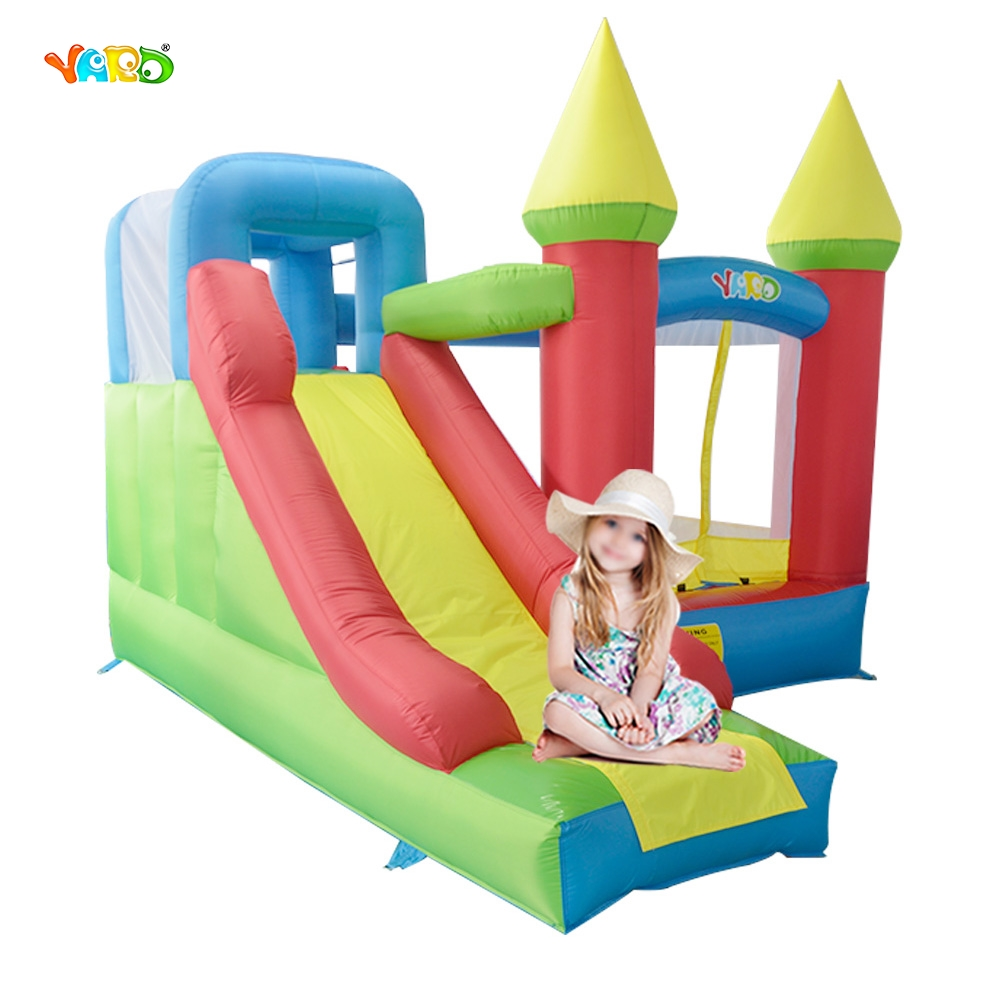 YARD Nylon PVC Inflatable Trampoline Kids Jumping Castle Outdoor Sport Game Special Offer ao058m 2m hot selling inflatable advertising helium balloon ball pvc helium balioon inflatable sphere sky balloon for sale