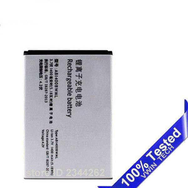 Testato Nuovo AB1400BWML Batteria Sostitutiva Per PHILIPS S308 CTS308 per Xenium 1400 mAh Piena Capacità Il Numero di Inseguimento
