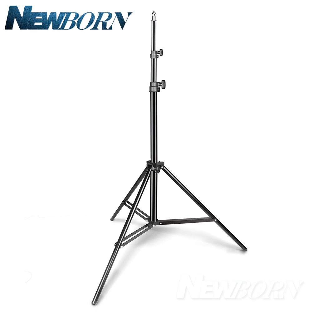200cm Aluminum alloy Light Stand 1/4 Screw Head photography Stand for Godox Yongnuo Studio flash LED Video light цена