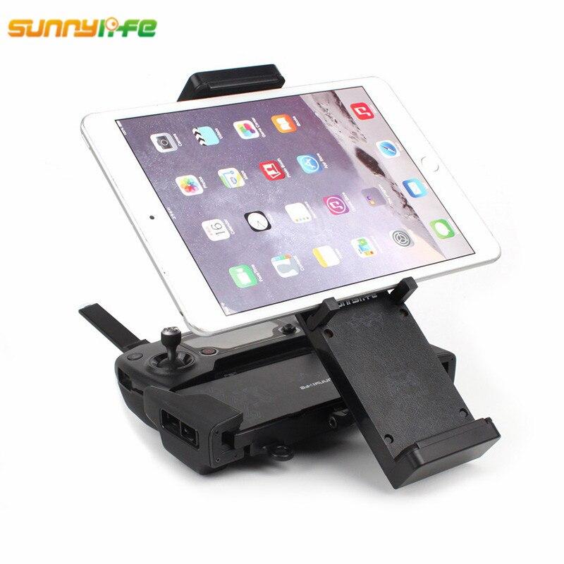 Sunnylife Spark DJI Mavic Air Pliable Moniteur Support Téléphone Tablet Titulaire avec Lanière 4.7-12.9 Lentille Filtre Cas pour Mavic Pro