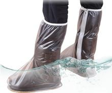 Rain Shoes Long-tube Rain-proof Shoes Sets of Men's Non-slip Waterproof Rainy Day Wear-resistant Outdoor Riding High-top
