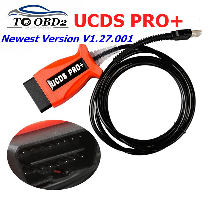 For FORD UCDS Pro+ For Ford UCDSYS With UCDS V1.27.001 Full License Software With 35 Tokens Support Odometer Correction