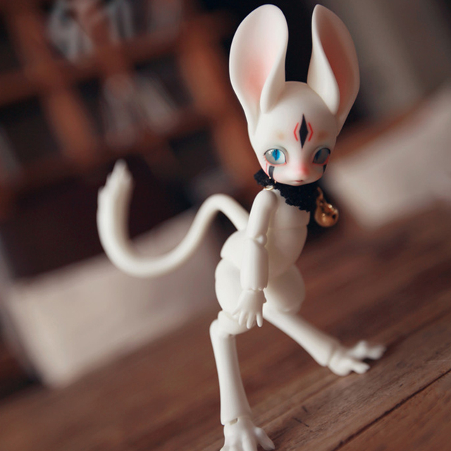 Fenny 1/8 Shuga Fairy Jerboa BJD SD Doll Yosd Model Baby Girls Boys Eyes High Quality Toys  Resin Figures For Christmas