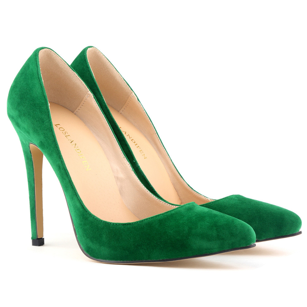 2e12ca671 Classic Vintage Women Pumps Soft Velvet High Heels Pointed Toe Corset Style  Ladies Dress Shoes US Size 4 11 Sipatos Femininos-in Women's Pumps from  Shoes on ...