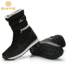 Buffie Brand  women  winter boots lady snow boots zipper easy wearing short version hot shoes slip resistance sole free shipping