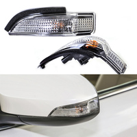 2Pcs Car Stable 2Pin Side Mirror Indicator Turn Signal Light Lamp 81730 02140 Fit For Toyota