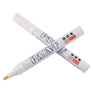 Красочные водонепроницаемые краски маркер авторучка автомобиля 12 шт шины протектора CD Металл Перманентный маркер ручка граффити фломастер на масляной основе MP-510