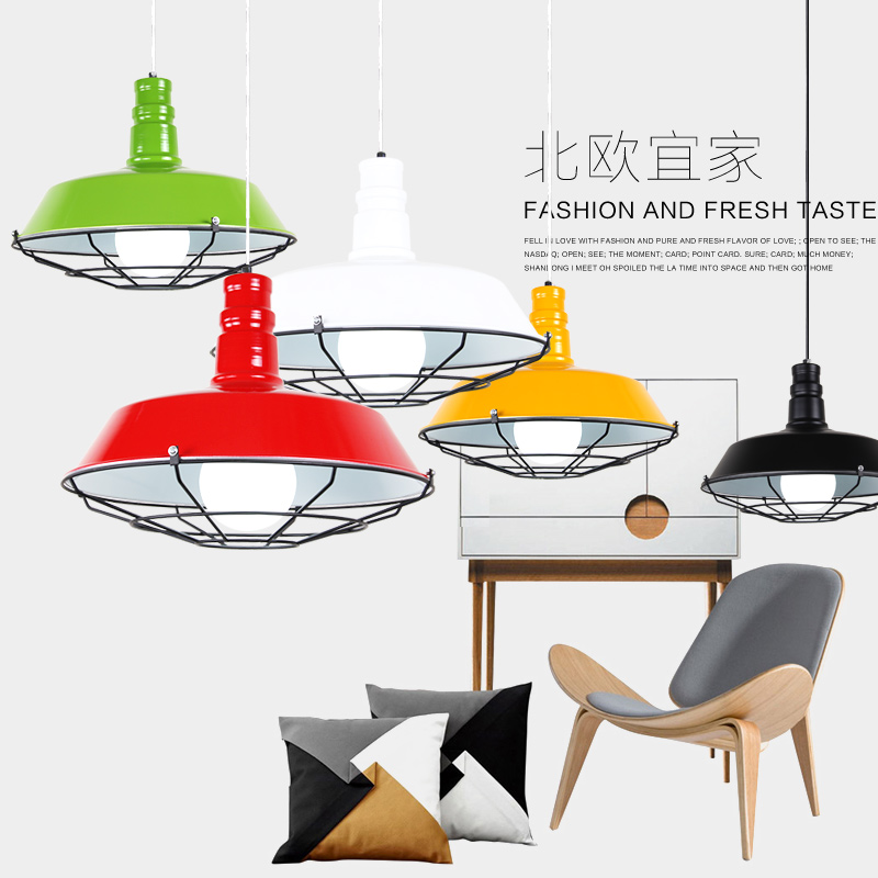 Vintage Pendant Lights Loft Lamp Avize Nordic Hanglamp Restaurant Kitchen Light Suspension Luminaire Home Industrial Lighting цена