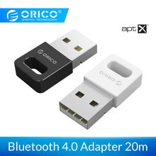 Adaptador ORICO USB Bluetooth 4,0 Dongle aptx adaptador receptor de sonido de música hasta 20M rango inalámbrico para Windows la computadora(China)