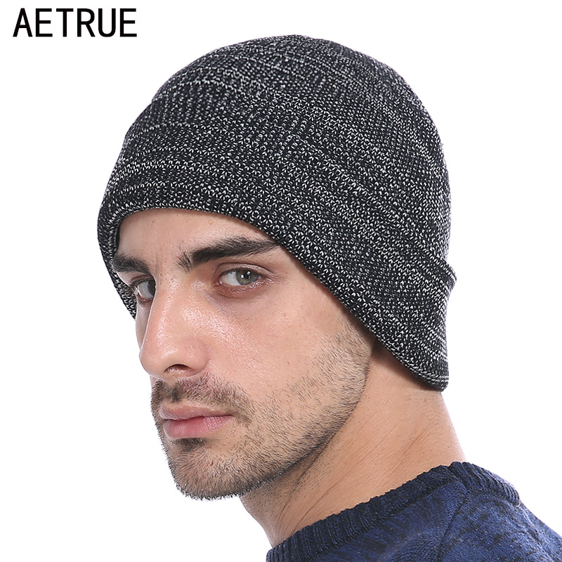 AETRUE Beanies Knitted Hat Men Winter Hats For Men Women Fashion Skullies Beaines Bonnet Brand Mask Casual Soft Knit Caps Hat aetrue beanies knitted hat winter hats for men women caps bonnet fashion warm baggy soft brand cap skullies beanie knit men hat