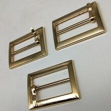 Metal Square belt buckles for shoes bag garment decoration silver/black/gold Belt Buckles DIY Accessory Sewing 20mm