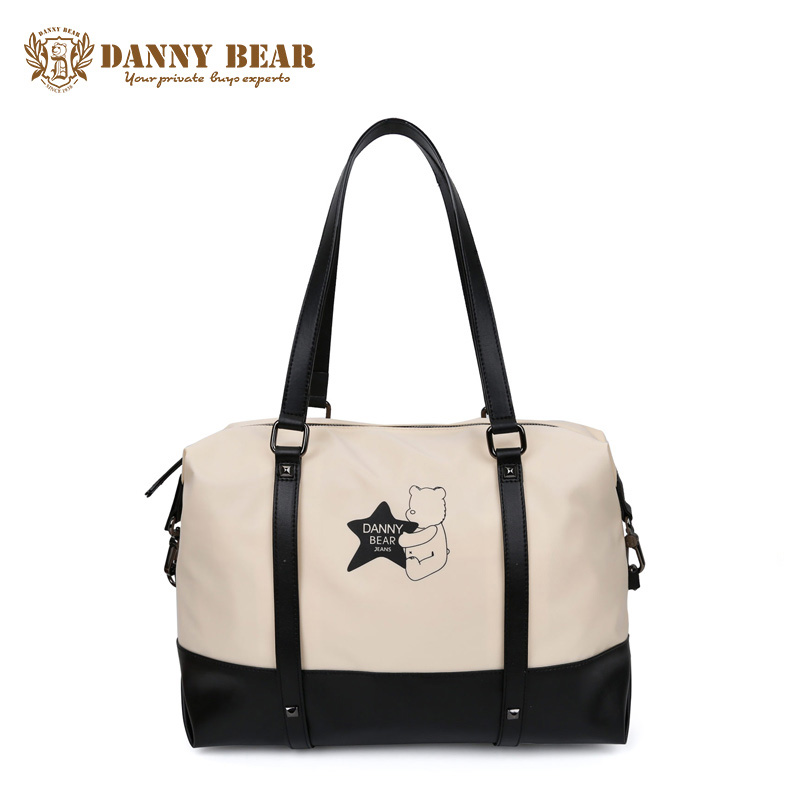 DANNY BEAR Women Italian Pu Leather Handbags Girls White Vintage Handbag Branded Shoulder Laptop Bag For Men Fashion Travel Bag рюкзак danny bear db14859 3