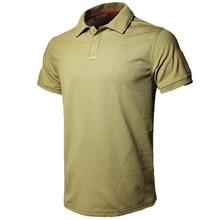 MEGE Dropshipping גברים פולו חולצה קיץ טקטי חיל אוויר מקרית צבאי צבא קצר חולצת טי polos para hombre camisa פולו