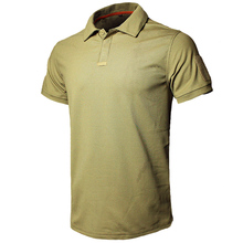 Mege dropshipping camisa polo dos homens verão tático da força aérea ocasional do exército militar camisa curta t polos para hombre camisa polo