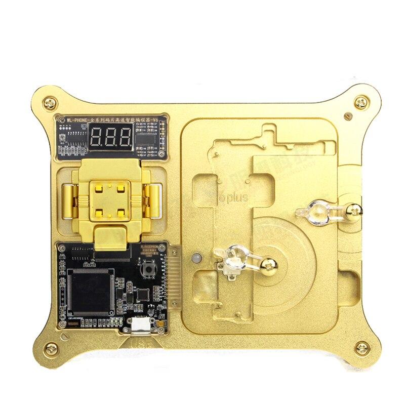 WL iphone 4S/5/5S/6/6S/6SP iPad pro NAND Flash iphone Repair HDD Serial number SN tool iphone nand test fixture 64bit 5s 6 6plus ipad mini 2 3 4 nand flash iphone repair hdd serial number sn tool