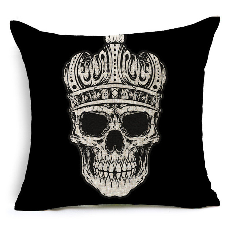 Customized Skull Ocean Cushion Pillow Covers  4