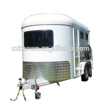 Australia Standard Angle Load 2 Horse Carriage Trailer Sales