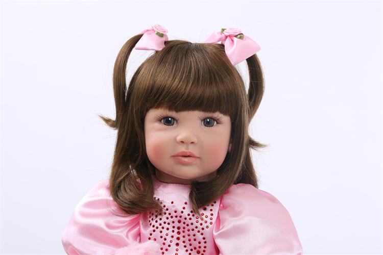 Silicone Reborn Baby Doll Toys High Quality Limited Collection Dolls 2
