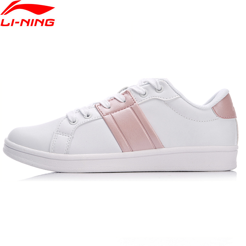 Li Ning Women LN ETERNITY Classic Lifestyle Shoes Wearable Anti Slippery LiNing Sport Shoes Comfort Sneakers