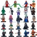 Sola Venta Marvel Super Heroes Avengers Comando Suicida Harley Quinn Stan Lee Bloques Ladrillos Figuras Juguetes para Los Niños