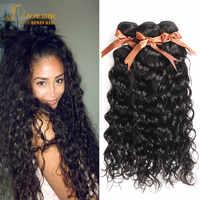 Joedir Menschliches Haar Brasilianische Wasser Welle 28 30 Zoll Bundles Menschliches Haar Weave Bundles Nicht Remy Haar Extensions Nasses Und welliges Haar