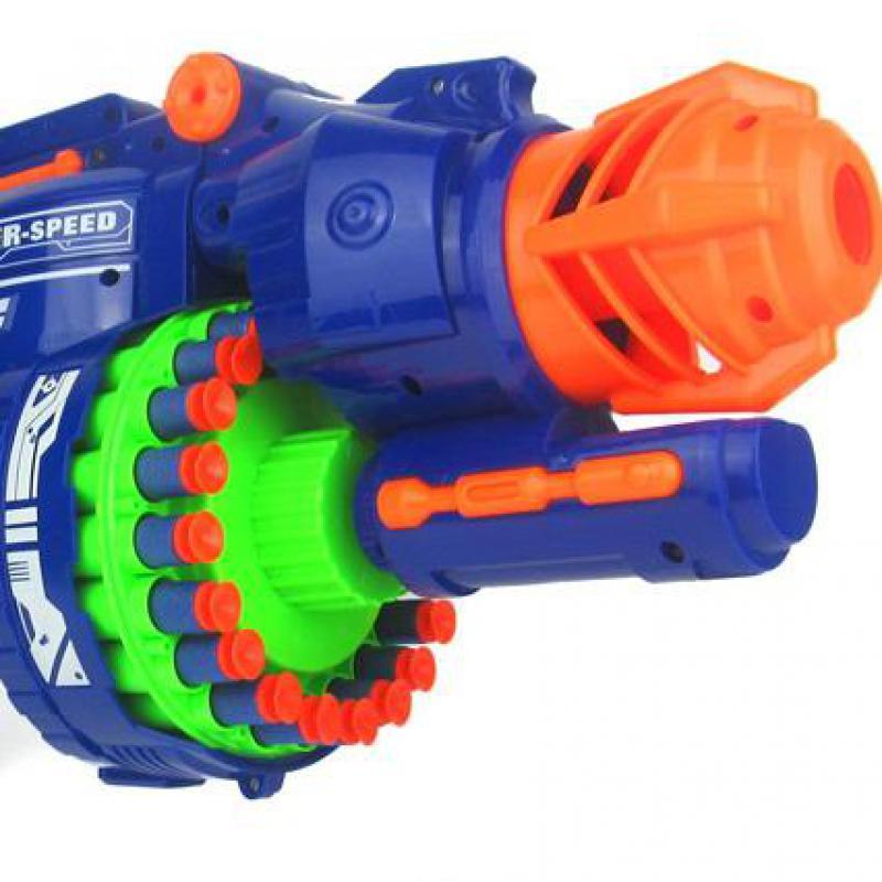 ไฟฟ้าของเล่นปืนนุ่มยืดหยุ่นพลาสติกยิงกระสุนต่อสู้ 20 Bursts Of Sniper เด็ก Field Gun ของเล่นเด็ก-ใน ปืนของเล่น จาก ของเล่นและงานอดิเรก บน   2