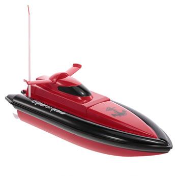 Wysokiej jakości łódź motorowa elektryczny pilot wyścigowy szybka łódź zabawki zdalnie sterowane dla dzieci zabawa na świeżym powietrzu łódź podwodna Brinquedos tanie i dobre opinie built-in 3 6V 500mAh rechargeable Ni-cd battery 49Mhz 2 * 1 5V AA batteries (not included) 235 * 75 * 60mm turn left turn right forward backward