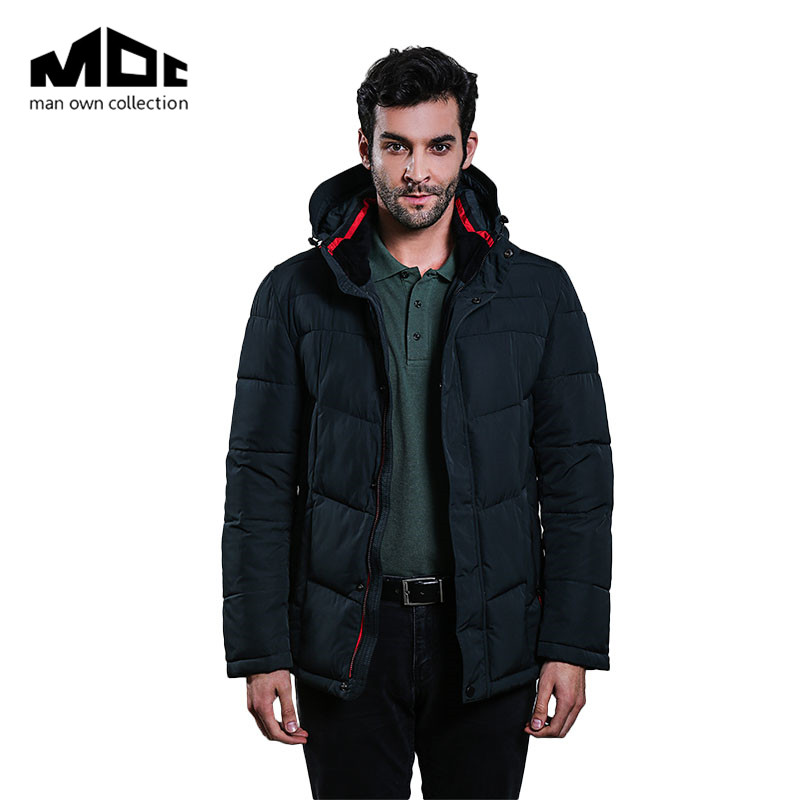 Men Bread bomber Jean Jacket Outwear Solid Long Sleeve Thick Cotton Clothing M-3XL Men's winter Windproof Coat High Grade