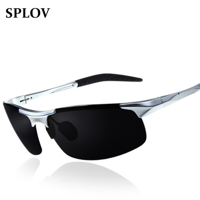 Aluminum Polarized Sunglasses Men Sport Mirror Sun Glasses Driving Outdoor Glasses Goggle Outdoor Oculos De Sol