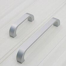 Алюминиевая длинная ручка мебельный Шкаф дверца ручки спальня шкаф комод кухонный ящик тянет ручки JA55