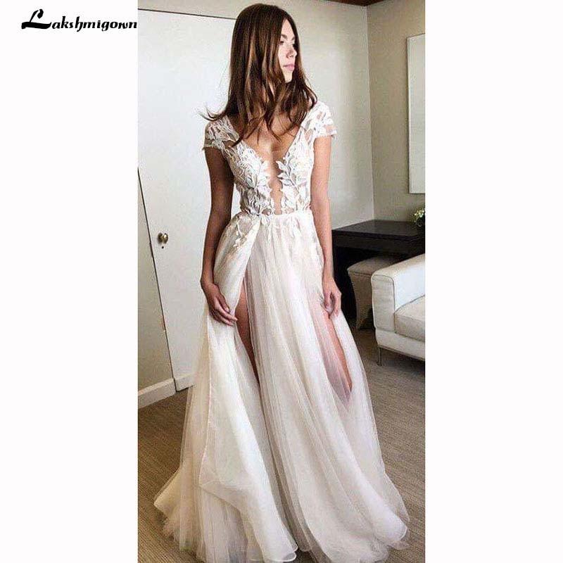 Robe de mariée blanc ivoire avec dentell ...