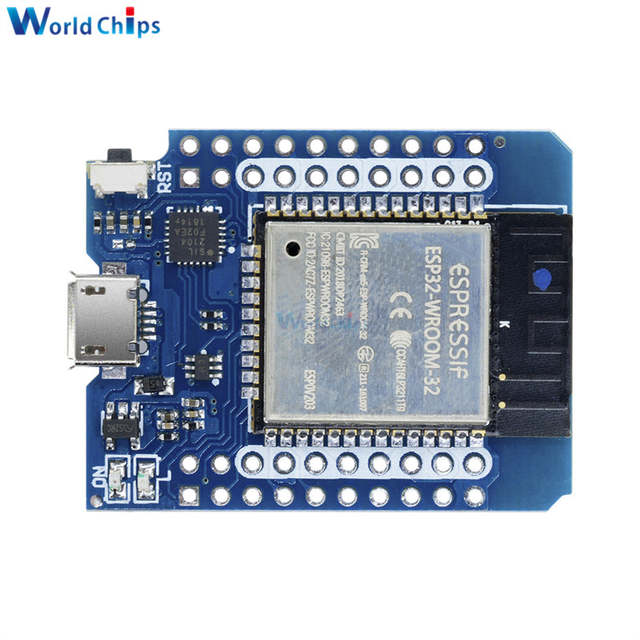 US $4 89 30% OFF|1 Set For Wemos MINI D1 ESP32 WiFi + Bluetooth For Wemos  D1 Mini Esp8266 Module With Pins New Arrival In Stock-in Integrated  Circuits