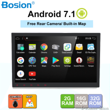 2Din da 10.1 pollici HD android 7.1 Quad core Universale Car Audio Video Stereo Lettore DVD di Navigazione GPS OBD DAB 4G Car multimedia