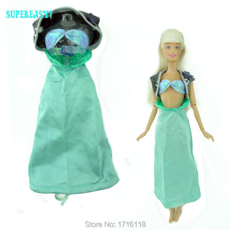 3in1 Fairy Story Outfit Jacket Bra Skirt Princess Unique Summer season Garments For Barbie Doll Kurhn FR 11.5″ 12″ Puppet Child Toys Present