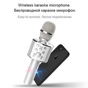 Image 3 - HOCO 가라오케 마이크 블루투스 무선 콘덴서 microfone 전문 휴대 전화 KTV 마이크 음악 플레이어 iOS 안드로이드에 대한
