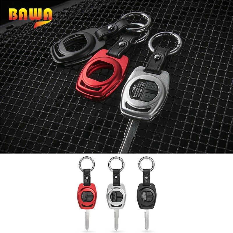 BAWA Key Case for Suzuki jimny 2007-2017 Metal Car Key Chain Shell Cover Accessories for Suzuki jimny