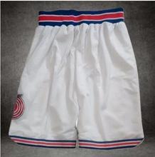 Space Jam Basketball Shorts Tune Squad White Black Basketball Jersey Free Shipping